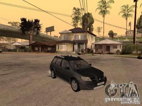 Mitsubishi Outlander 2003 для GTA San Andreas вид справа