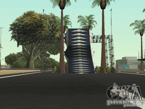 Drift track and stund map для GTA San Andreas четвёртый скриншот