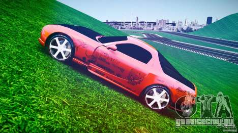 Mazda RX-7 ProStreet Style для GTA 4 вид изнутри