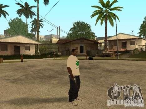 Футболка с Травой для GTA San Andreas третий скриншот