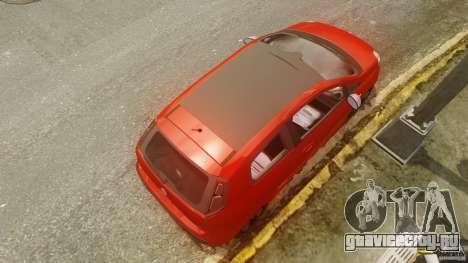 Fiat Punto Evo Sport 2010 для GTA 4 вид справа