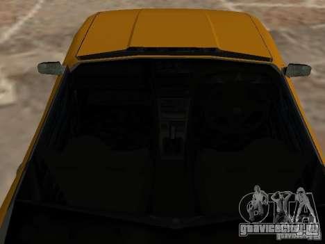 Elegy Кабрио для GTA San Andreas вид сзади