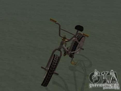 New Bmx для GTA San Andreas вид справа