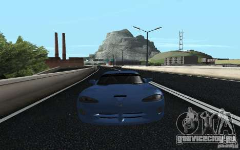 Dodge Viper GTS Monster Energy DRIFT для GTA San Andreas вид сзади слева