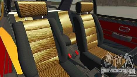 Opel Kadett D GTE Mattig Tuning для GTA San Andreas вид изнутри