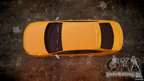 Audi S4 2010 для GTA 4 вид сверху