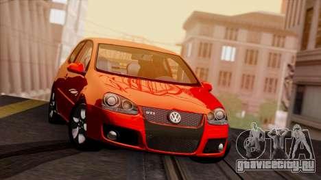 VW Golf V GTI 2006 для GTA San Andreas вид слева