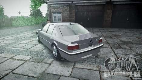 BMW 740i (E38) style 32 для GTA 4 вид сверху