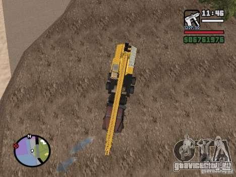 КрАЗ-250 MKAT-40 для GTA San Andreas вид сзади слева