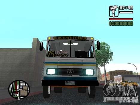 Cuatro Ases M.Benz LO608D для GTA San Andreas вид сверху