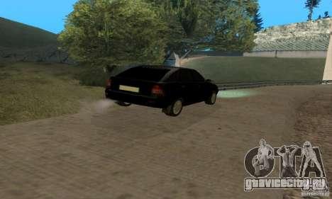 Лада Приора хэтчбэк для GTA San Andreas вид изнутри
