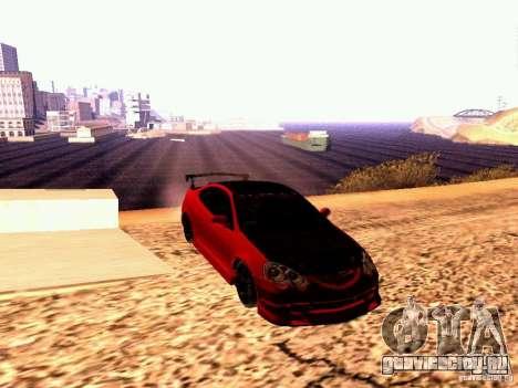 Acura RSX Drift для GTA San Andreas вид справа