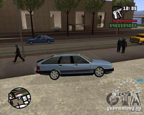 Audi 100 Avant для GTA San Andreas вид справа