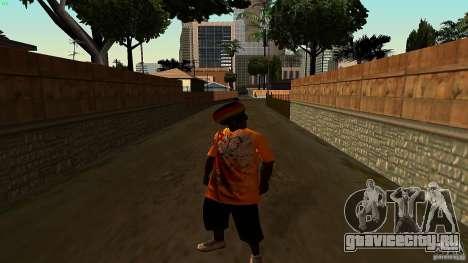 Jamaican Guy для GTA San Andreas второй скриншот