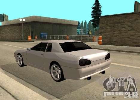 Elegy MIX v2 для GTA San Andreas вид слева