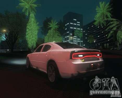 Dodge Charger 2011 для GTA San Andreas вид сзади слева
