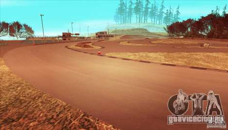 The Ebisu South Circuit для GTA San Andreas седьмой скриншот