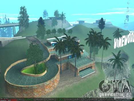 Новая вилла Мед-Догга для GTA San Andreas второй скриншот