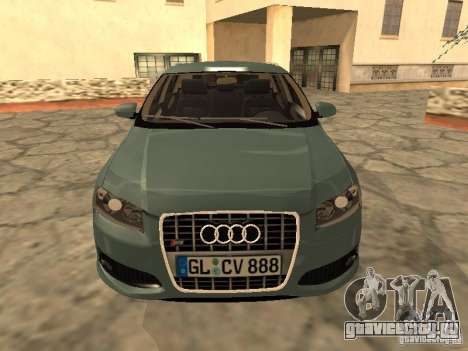 Audi S3 Sportback 2007 для GTA San Andreas вид слева