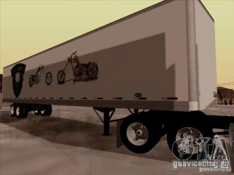 Hell Riders American для GTA San Andreas вид справа