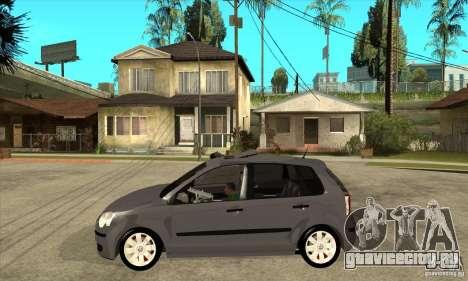 Volkswagen Polo 2008 для GTA San Andreas вид слева