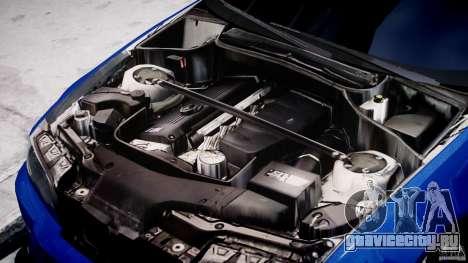 BMW M3 E46 Tuning 2001 для GTA 4 вид сзади
