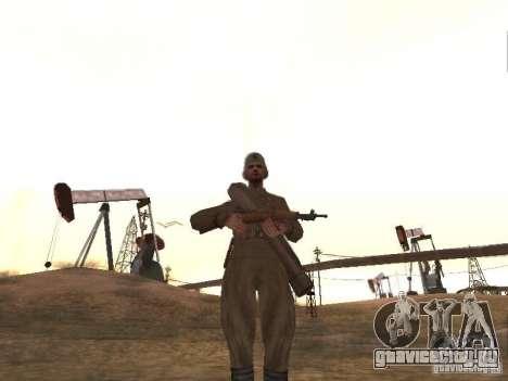 Советский воин для GTA San Andreas второй скриншот