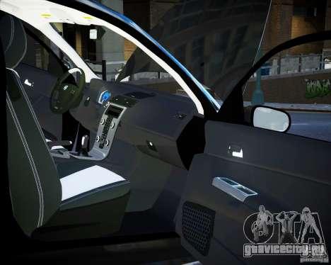 Volvo C30 2009 для GTA 4 вид сверху