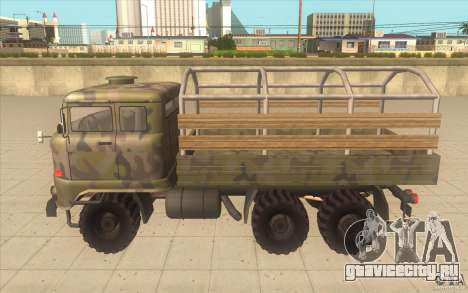 IFA 6x6 Army Truck для GTA San Andreas вид слева