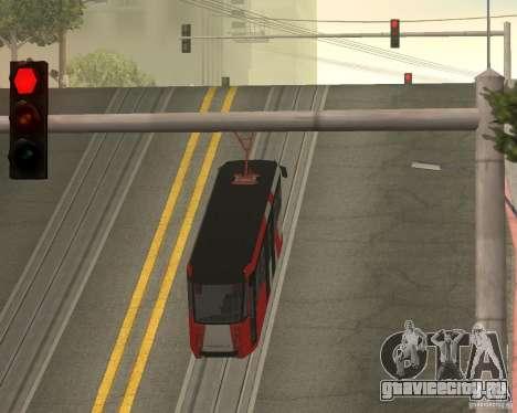 ЛМ-2008 для GTA San Andreas вид сбоку