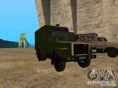 ГАЗ 3309 Автозак для GTA San Andreas