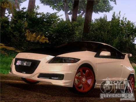 Honda CR-Z Mugen 2011 V2.0 для GTA San Andreas вид сзади