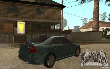 Ford Fusion 2010 для GTA San Andreas вид справа