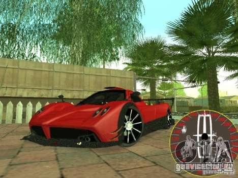 Новый спидометр Lincoln для GTA San Andreas