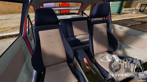 Ford Sierra RS500 Cosworth 1987 для GTA 4 вид изнутри