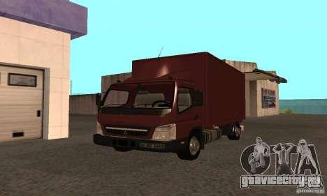 Mitsubishi Fuso Center для GTA San Andreas