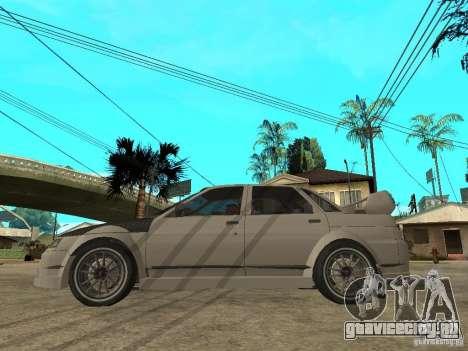 ВАЗ 2110 WRC 2.0 для GTA San Andreas вид слева