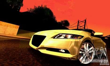 Honda CR-Z 2010 V2.0 для GTA San Andreas колёса