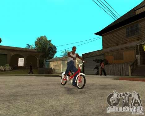 Велосипед GTA SA Tair Bike для GTA San Andreas вид справа