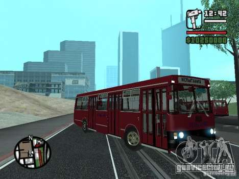 ЛАЗ 5252 для GTA San Andreas вид сзади