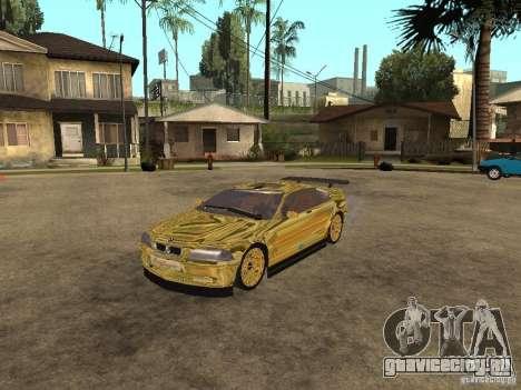 BMW M3 Goldfinger для GTA San Andreas
