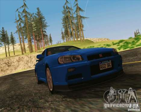NFS The Run ENBSeries для SAMP для GTA San Andreas третий скриншот