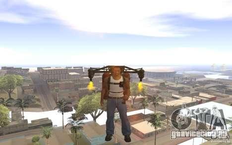 Джетпак в стиле СССР для GTA San Andreas четвёртый скриншот