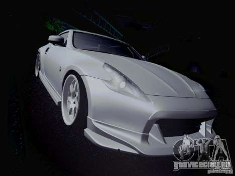 Nissan 370Z Fatlace для GTA San Andreas салон