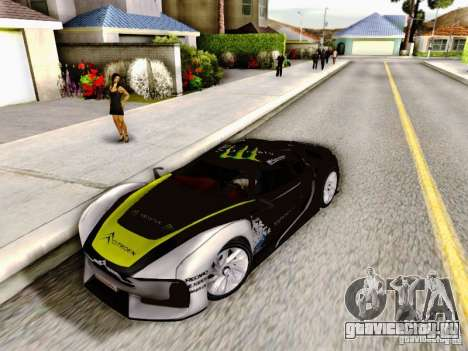 Citroen GT Gymkhana для GTA San Andreas