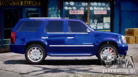 Cadillac Escalade [Beta] для GTA 4 вид сбоку