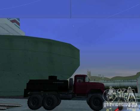 ЗиЛ 131 Топливозаправщик для GTA San Andreas вид слева
