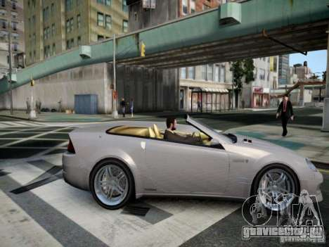 Feltzer BR-12 для GTA 4 вид справа