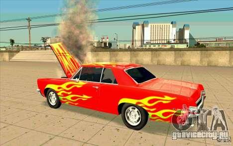 Dead car для GTA San Andreas второй скриншот