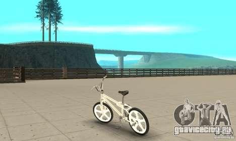 Skyway BMX для GTA San Andreas вид сзади слева